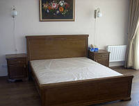 """Двуспальная  кровать из массива """"Каламбур"""""""