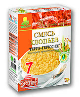 """Хлопья  Смесь 7 злаков """"ТЕРРА"""" 800г"""