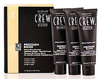 Краска для волос 7-8 уровень American Crew Precision Blend Light 3х40 ml
