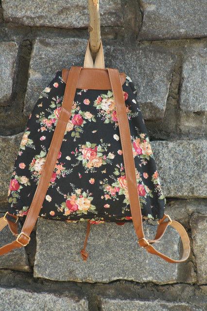 Рюкзак для девушки текстильный