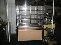 Стол кондитерский с надстройкой 12, Fresh, Украина, HoReCa, любой, линия раздачи питания, витрина под салаты, линия самообслуживания