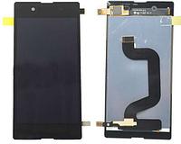 Дисплей (экран) + сенсор (тач скрин) SONY Xperia E3 D2202, D2212 black (оригинал)