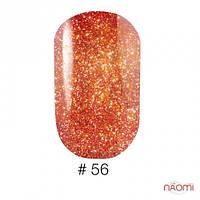 Лак для ногтей VINYTONE 56 оранжево-бордовый с шиммерами
