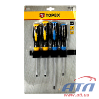 Отвертка TOPEX  набор 4 шт. (39D884)