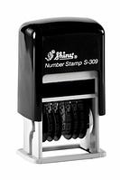 Штамп мини-нумератор/6розр., 3мм.