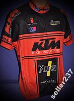 Джерси веломайка KTM мужская размеры ХL