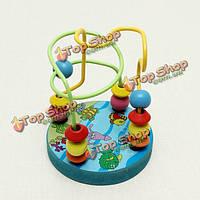 Миниатюрная гладкошерстная лабиринт образовательных носить бусы грибы ногти образование игрушки