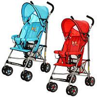Детская коляска с москитной сеткой BD102-3-4R (Красная), фото 1