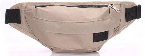 Практичная поясная сумка  POOLPARTY bumbag-oxford-khaki