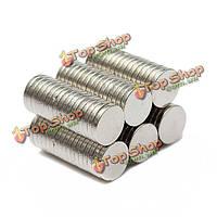 100шт 6 х 1мм диск неодимовые супер сильные редкоземельные магниты сословия n35