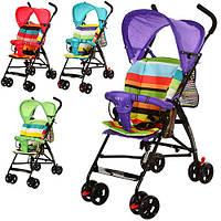 Детская коляска-трость BD105V (Фиолетовая) в разных цветах, фото 1