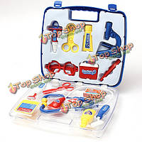 Образовательные врачи медсестры одеваться Ролевая игра игрушка медицинский случай набор