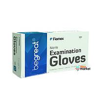 Одноразовая одежда Fiomex Перчатки нитриловые Fiomex ХS premium неопудренные 100 шт