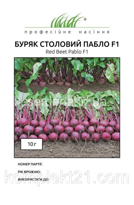 Семена Буряк Пабло (10.000 шт). Bejo Zaden. Голландия