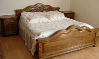 """Двуспальная  кровать из дерева """"Рент"""""""