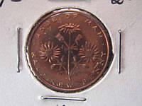 1/2 пенни Мэн 1975 флора состояние