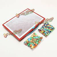 Пластиковые ногтей фоторобота творческий набор пазл мозаика малыш игрушки