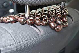Деревянная накидка на сиденье НД 012, фото 3