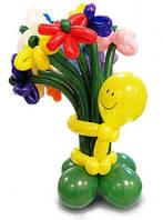 №8 Цветы из шаров