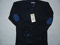 Рубашка темно синяя  для мальчиков на рост 146-170