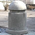 парковочный бетонный столбик