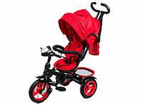 Трехколесный велосипед Neo 4 Air надувные колеса, красный
