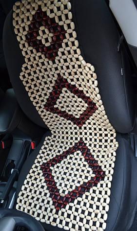 Деревянная накидка в авто НД 019, фото 2