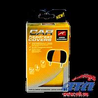 Подголовники Arrow Accessories желтые UNIVERSAL 2 шт (800177)