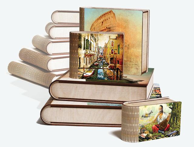 Шкатулки-книги