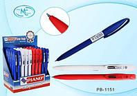 """Ручка кулькова """"Piano"""" PT-1151 синя"""