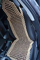 Деревянная накидка с подголовником НД 0035, фото 1