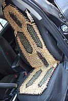 Деревянная накидка массажная с подголовником НД 033, фото 1