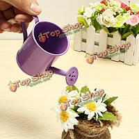 Мини цветок олова сад ведро жестяная коробка фото реквизит