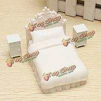 Архитектура модель односпальной кроватью набор моделей для крытой сцены макет