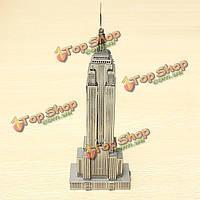 Piececool Эмпайр-Стейт-Билдинг 3D-моделирования лазерной резки модели головоломки