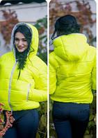 Куртка стильная женская Монклер