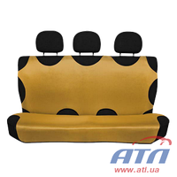 Майки на сидения Relax Control золотистые задние Arrow H163