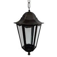 Светильник Lemanso PL6205 черный на цепочке 100W