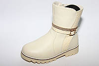Детская обувь оптом.Зимние ботинки для девочек от Y.TOP разм (с 31-по 36)