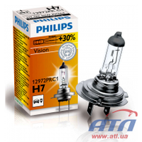 Лампа 12972PRC1 H7 55W 12V PX26d VISION +30%