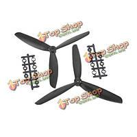 5045 3 лопасти воздушного винта ABS CW/CCW для Mini Квадрокоптер 250 рама Комплект