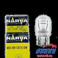 Лампа 17919 W21/5W 12V 21/5W W3X16q x10шт.
