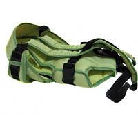 Рюкзак кенгуру переноска 3 положения Womar Green.L