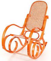 Кресло-качалка Rafia (светлое, сетка), фото 1