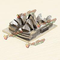 ZOYO сиднейский оперный театр DIY 3D лазерная резка модели головоломки