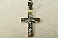 Крестик из серебра 925* на цепочку