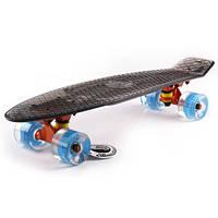 Скейтборд Penny Led Wheels Transparent  SK-5224