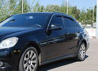 Дефлекторы окон (ветровики) Mercedes E-class W212 sedan