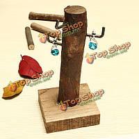 Мини пень стола фото реквизит ювелирные изделия рамка деревянная набор