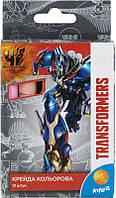 """Крейда кольорова """"Kite"""" 12кол TF15-075K """"Transformers"""""""